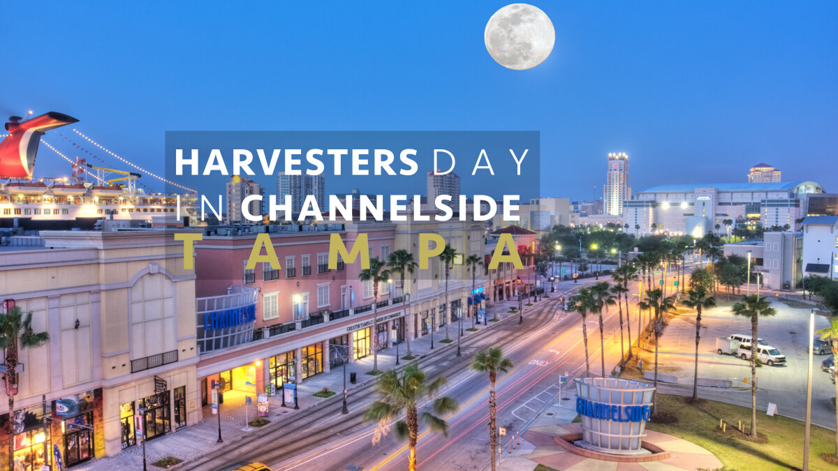 Harvesters Day in Tampa Channelside
