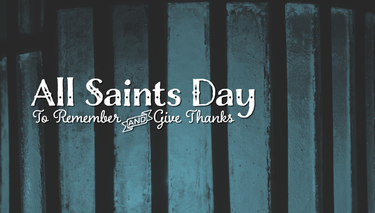 All Saints Day Celebration