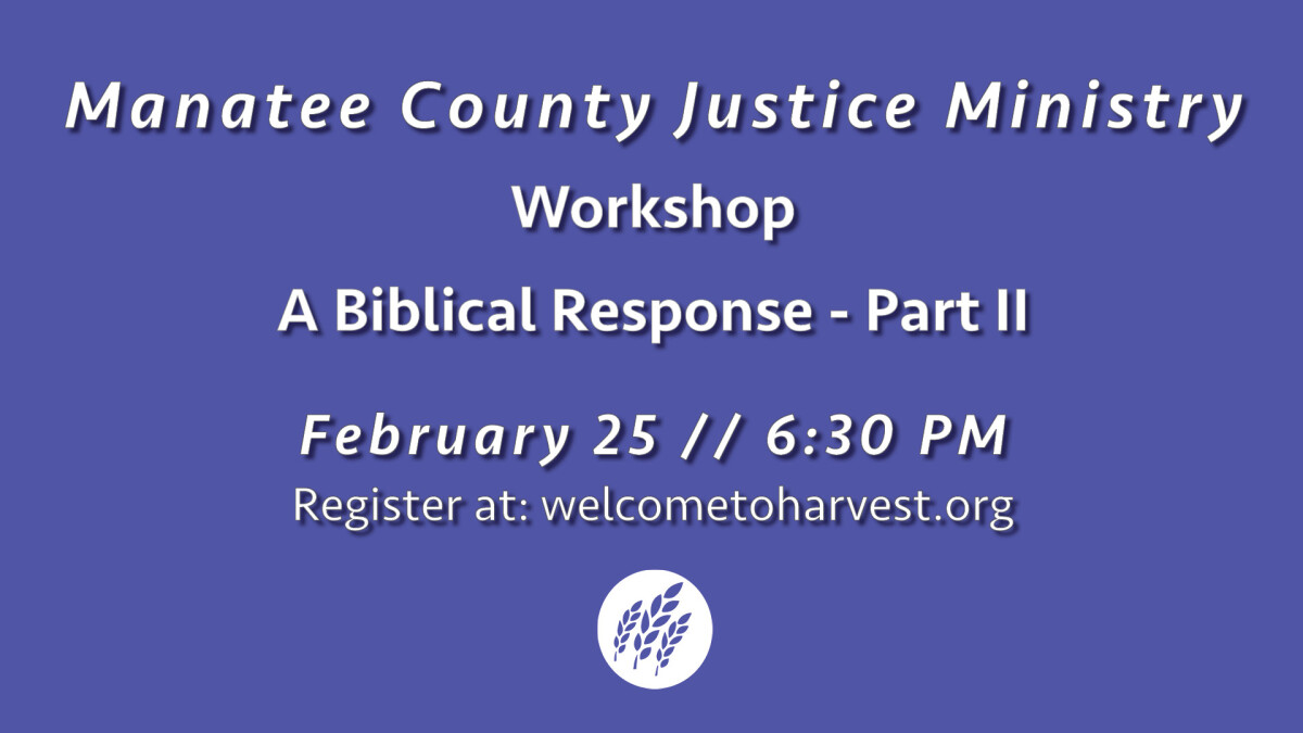Manatee County Justice Ministry