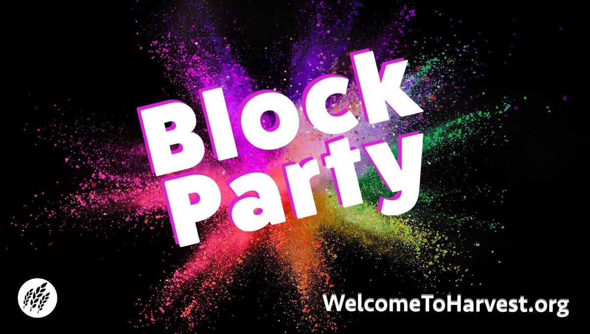 Block Party October 24